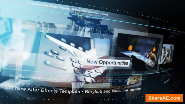 Videohive A Moving World