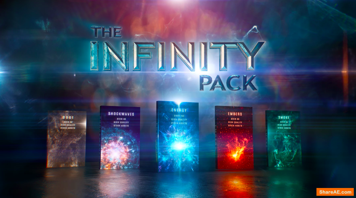 Infinity: VFX Assets Collection - Triune Digital