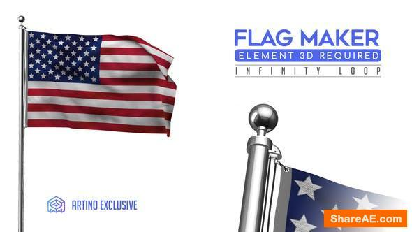 Videohive Flag Maker 25588451