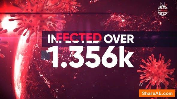 Videohive Pandemia - Hot News, Stats, Politics Opener