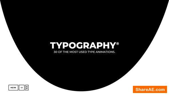 Videohive Essential Typography Toolkit