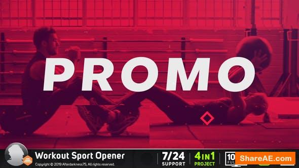 Videohive Workout Sports Opener