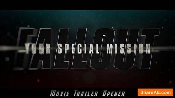 Videohive Fallout Epic Trailer Opener