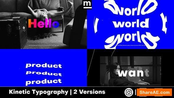 Videohive Stomp Typography 25796497