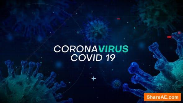 Videohive CoronaVirus Intro 26166337