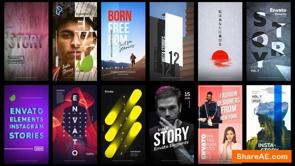 Videohive 12 Instagram Stories Vol. 7