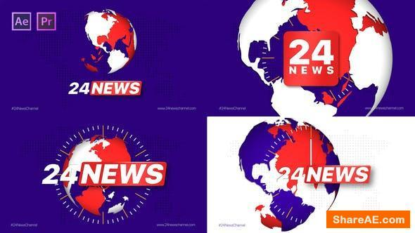 Videohive Broadcast 24 News Channel