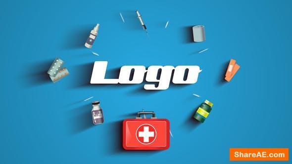 Videohive Medical Logo Reveal 26299085