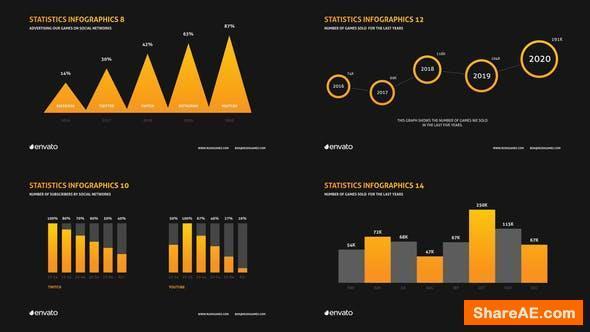 Videohive Company Infographics Presentation