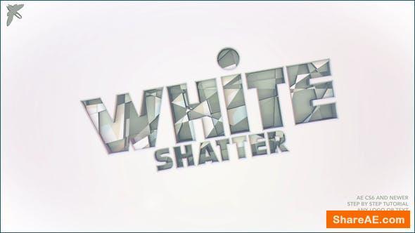 Videohive White Shatter Logo