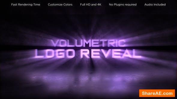 Videohive Volumetric Logo Reveal