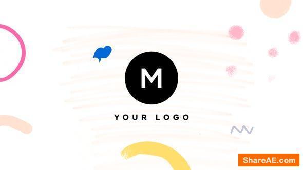 Videohive Hand Drawn Brush Minimal Logo