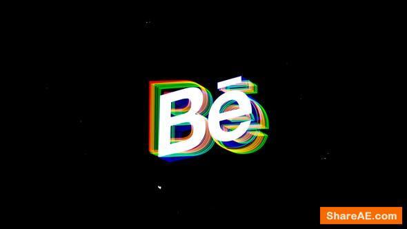 Videohive Glitch Logo 24384853