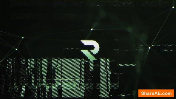 Videohive Connection | Glitchy Logo Reveal