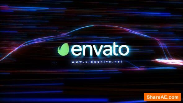 Videohive Fast Car Logo Ident