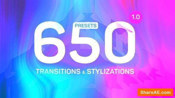 Videohive Transitions & Stylizations for Premiere Pro