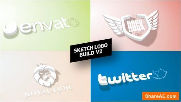 Videohive Sketch Logo Build v2