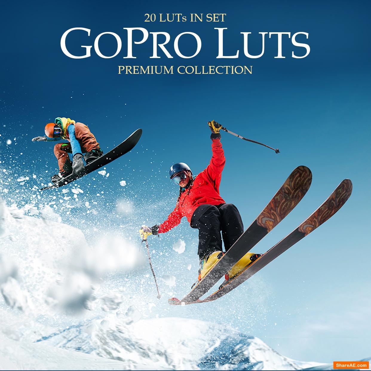 GoPro Luts - Fixthephoto
