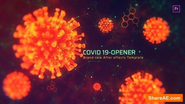Videohive Covid Opener MOGRT - Premiere Pro