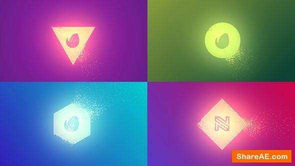 Videohive Quick Simple Particles Logo