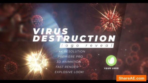 Videohive Virus Destruction Logo Reveal - Premiere Pro