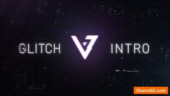 Videohive Glitch Logo Reveal 26400199