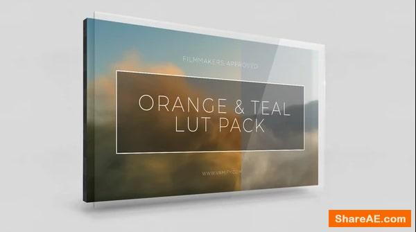 Orange and Teal LUT Pack - Vamify