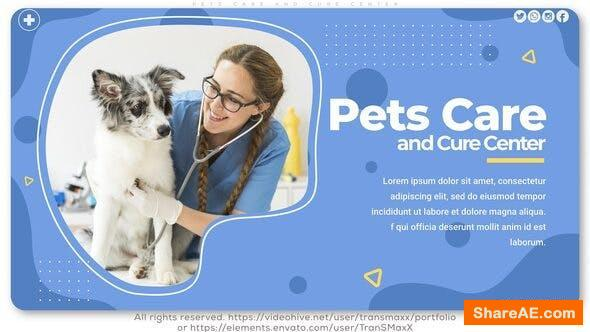 Videohive Pets Care and Cure Center
