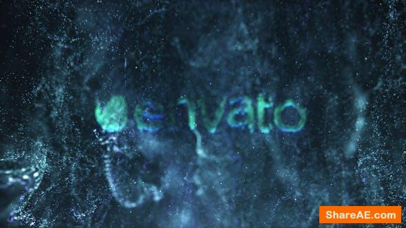 Videohive Magic Fluid Particles Logo