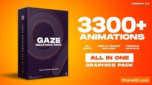 Videohive Gaze - Graphics Pack v3.0 [Cracked]