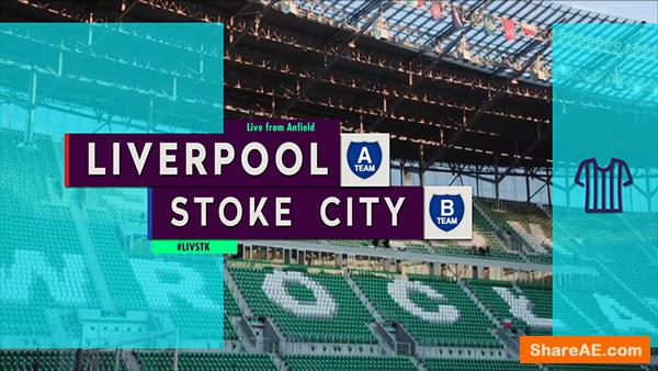 Football League Broadcast Package - Yallastudio