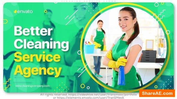 Videohive Cleaning Service Promo