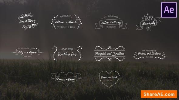 Videohive Wedding Titles   After Effects