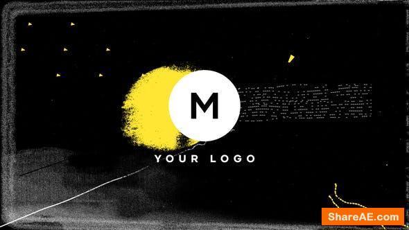 Videohive Scribble Grunge Distortion Logo