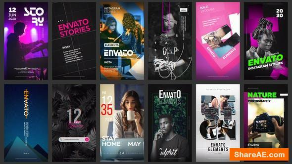 Videohive 12 Instagram Stories Vol. 8