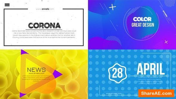 Videohive Clean Typography Titles