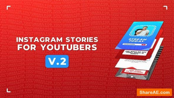 Videohive Instagram Stories For YouTubers v.2 - Premiere Pro