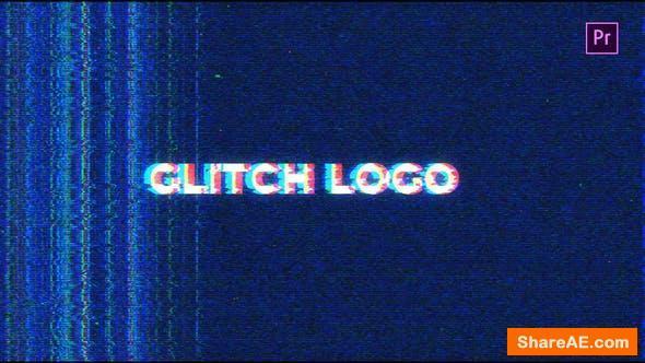 Videohive Noise Glitch Logo Mogrt - Premiere Pro