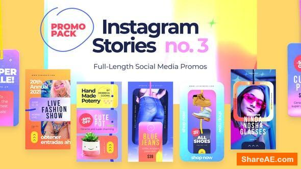 Videohive Instagram Stories no.3 - Premiere Pro