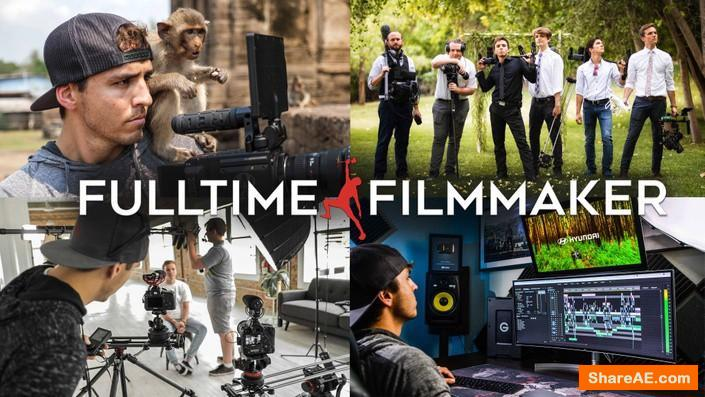 Full Time Filmmaker - Basic (Main) Course, Older Version - Shooting & Editing Videos