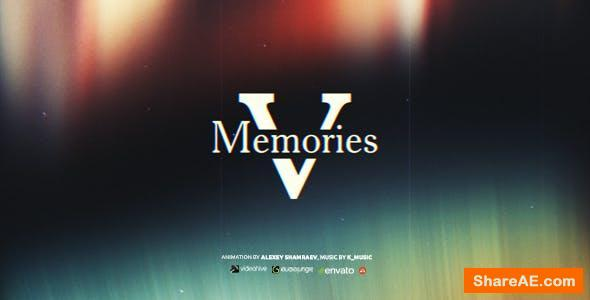 Videohive Memories V - Flashback Slideshow