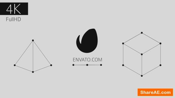 Videohive Point and Line Logo