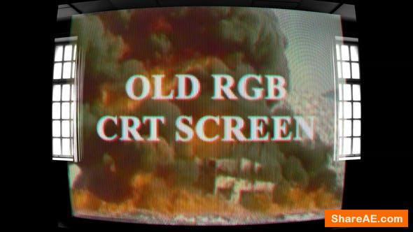Videohive Old RGB CRT Screen