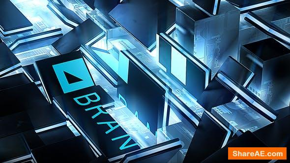 Videohive Hardware GPU Chip Logo Reveal