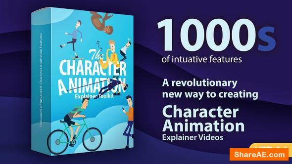 Videohive Character Animation Explainer Toolkit v1.4