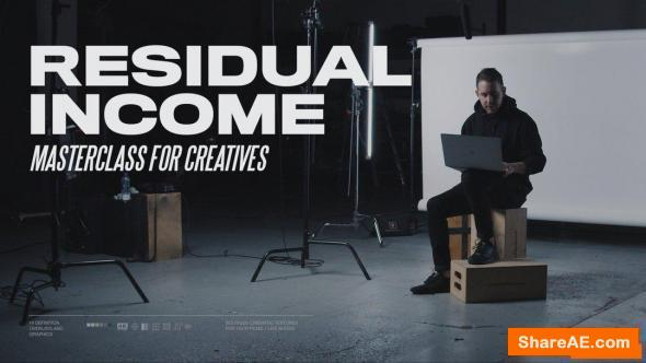 Residual Income for Creatives - Ezra Cohen