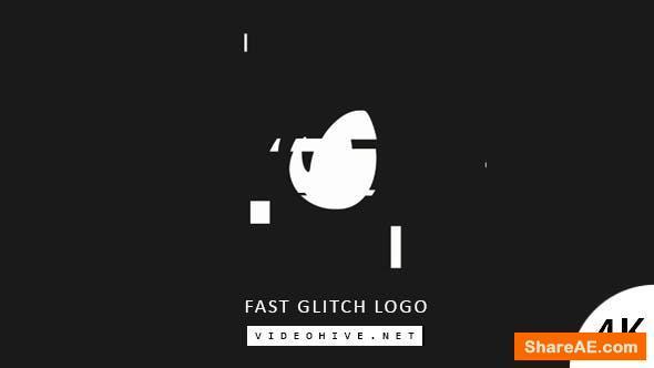 Videohive Fast Glitch Logo 20676583