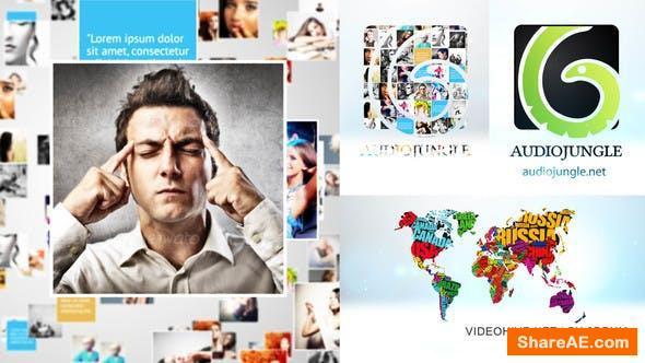 Videohive Mosaic Logo Sting