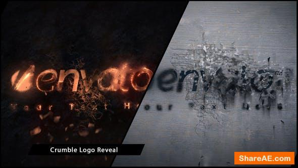 Videohive Crumble Logo Reveal