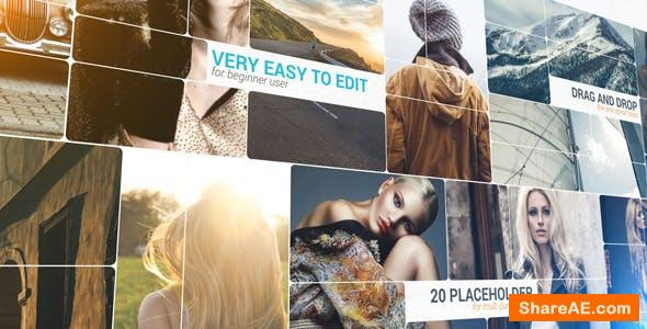 Videohive 3D Slice Photo Slideshow